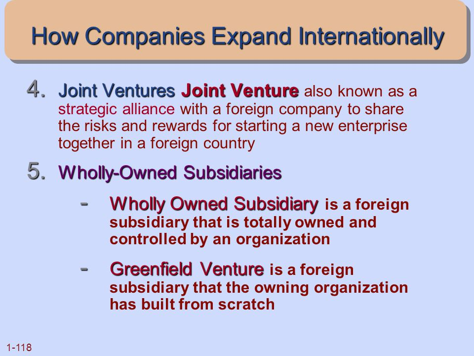 How Companies Expand Internationally