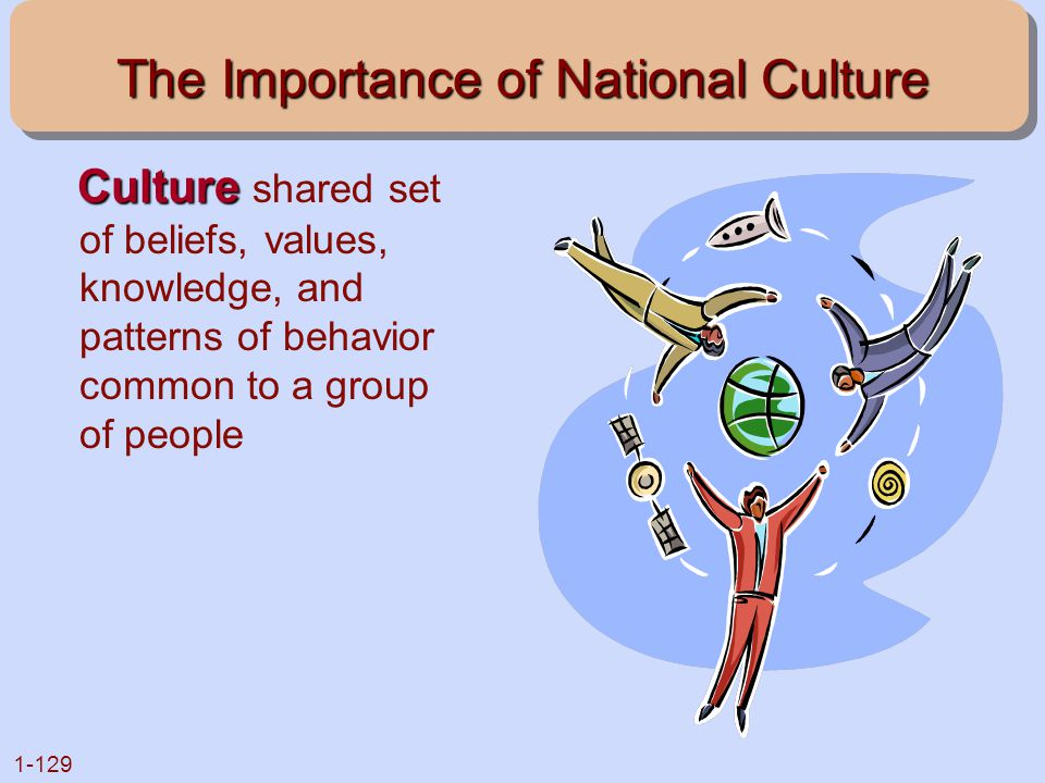 The Importance of National Culture