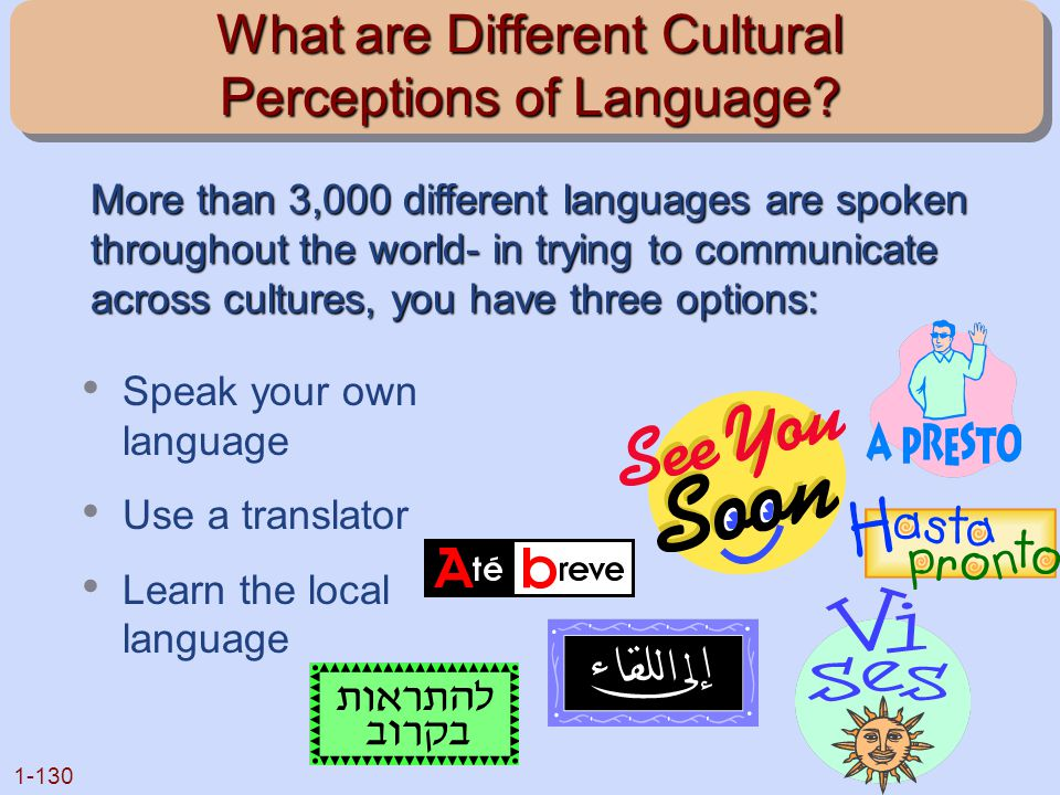 What are Different Cultural Perceptions of Language