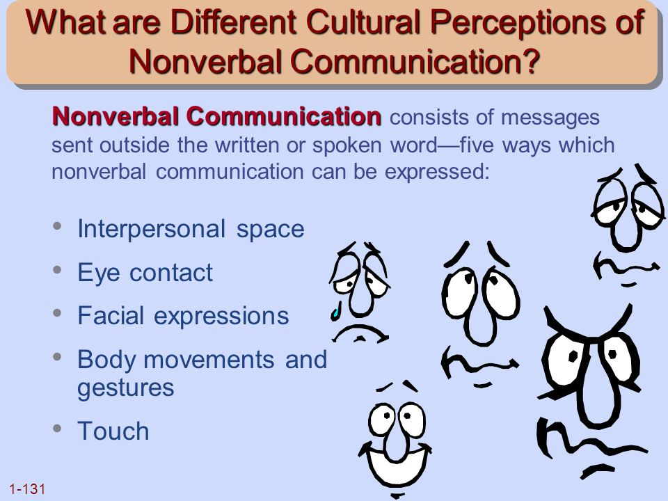 What are Different Cultural Perceptions of Nonverbal Communication