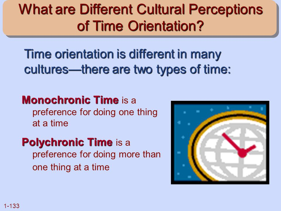 What are Different Cultural Perceptions of Time Orientation