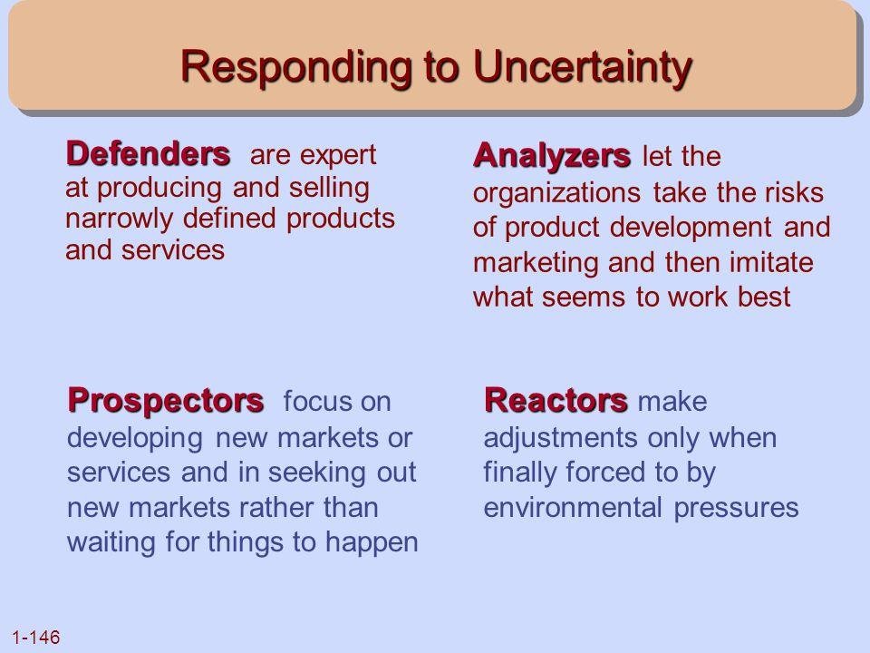 Responding to Uncertainty
