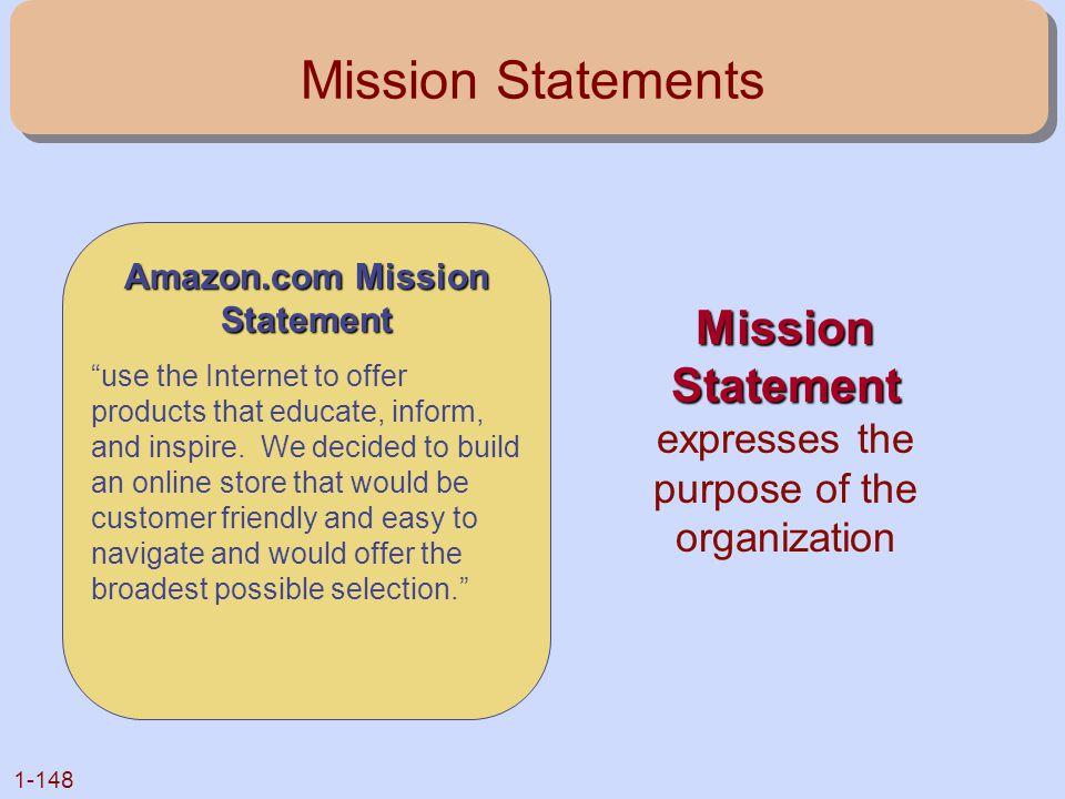 Amazon.com Mission Statement