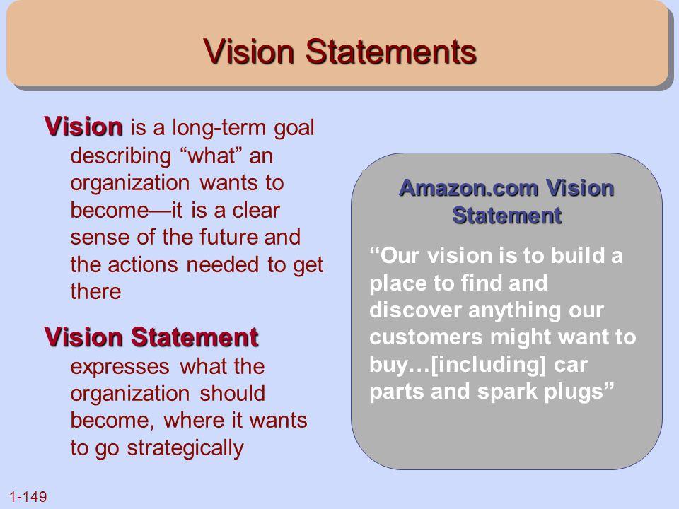 Amazon.com Vision Statement