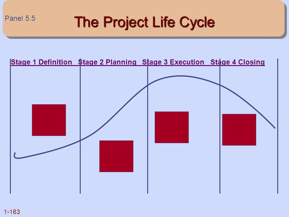 The Project Life Cycle Panel 5.5
