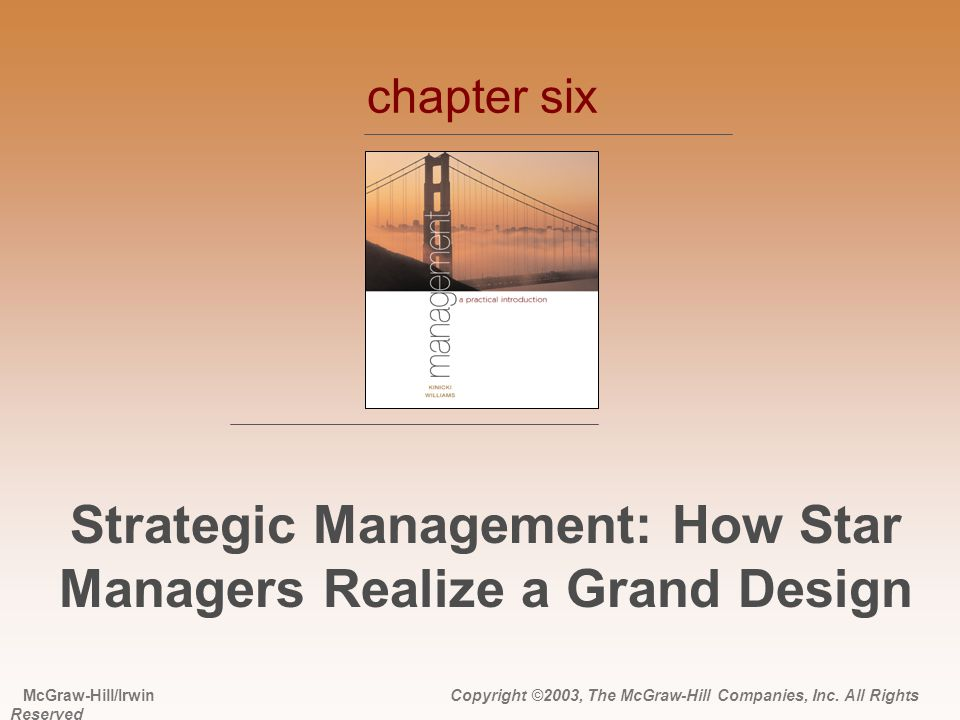 Strategic Management: How Star Managers Realize a Grand Design