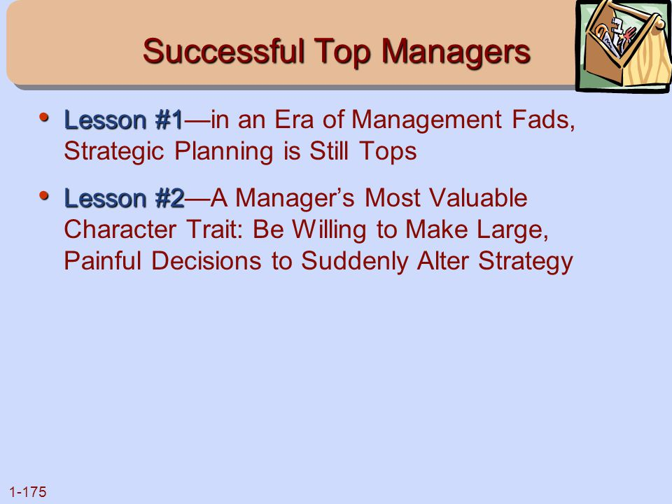 Successful Top Managers