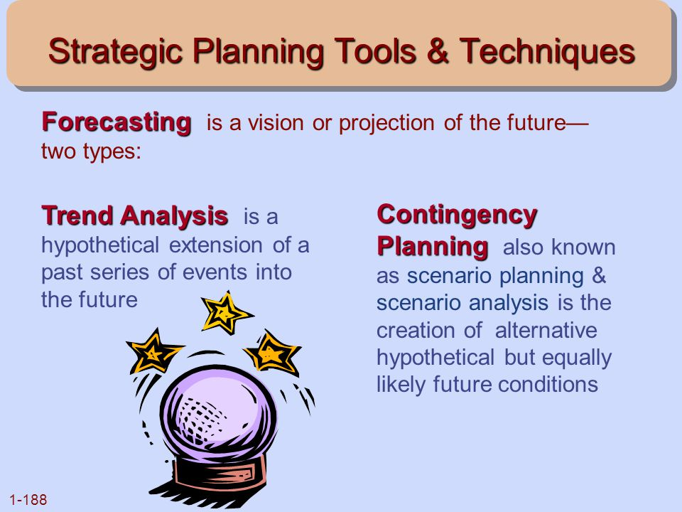 Strategic Planning Tools & Techniques