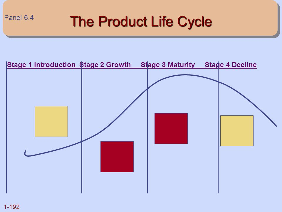 The Product Life Cycle Panel 6.4