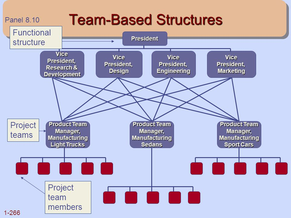 Team-Based Structures