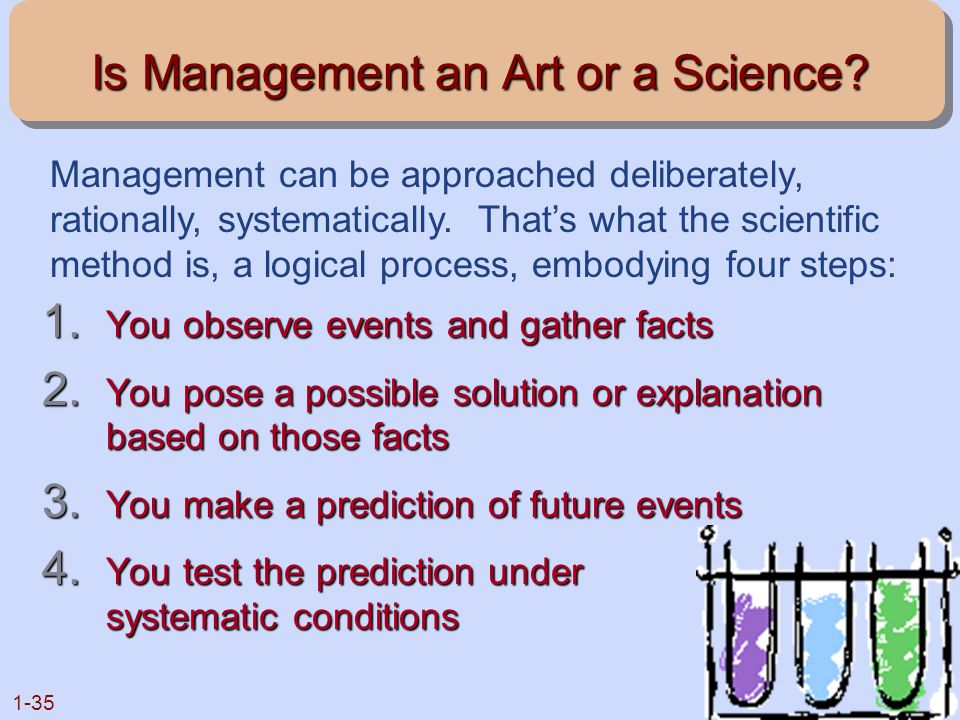 Is Management an Art or a Science