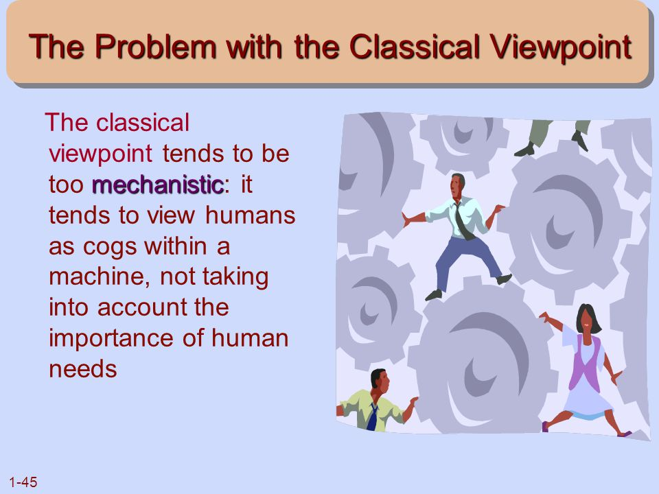 The Problem with the Classical Viewpoint