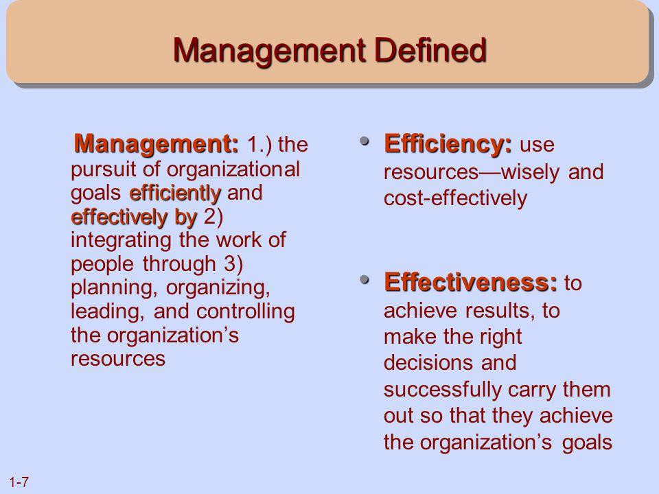 Management Defined