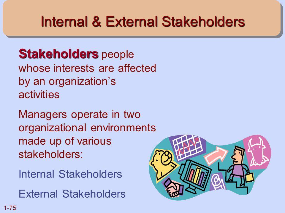 Internal & External Stakeholders