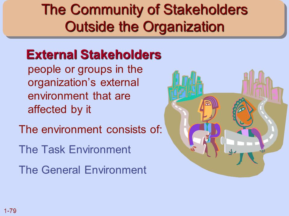 The Community of Stakeholders Outside the Organization