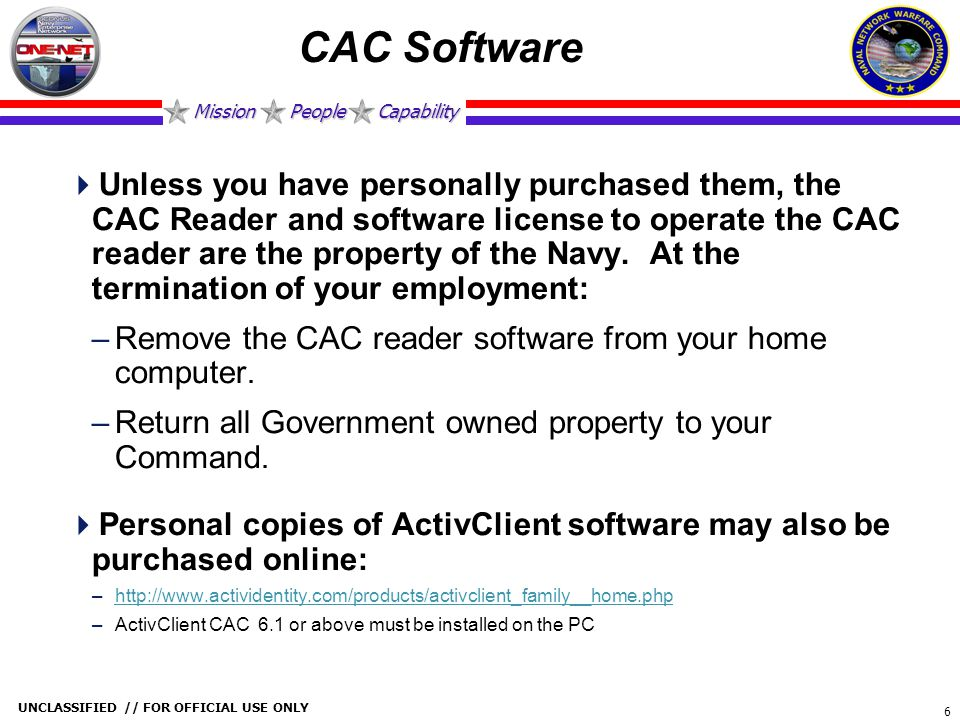 CAC Software