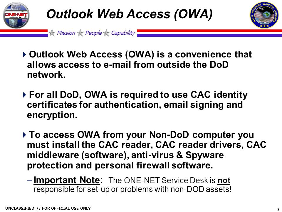 Outlook Web Access (OWA)