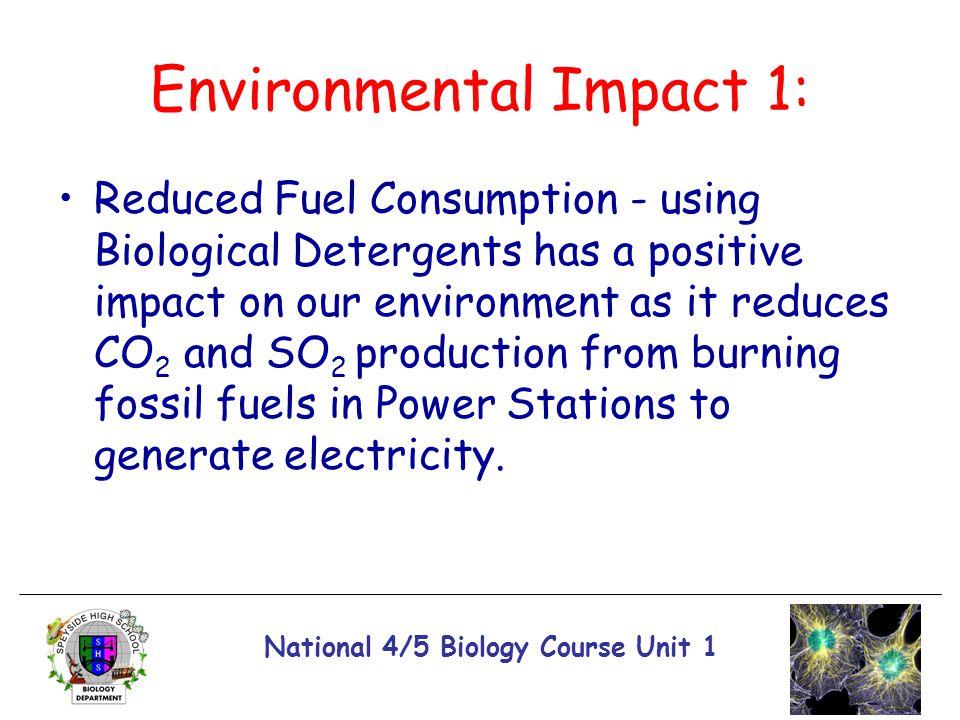Environmental Impact 1: