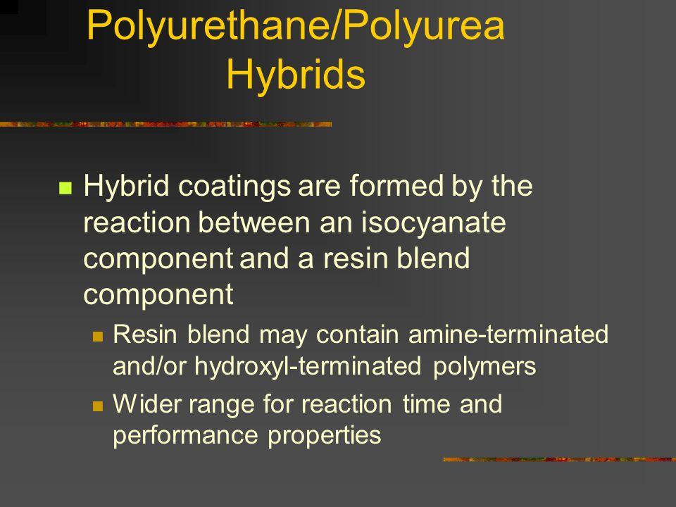 Polyurethane/Polyurea Hybrids