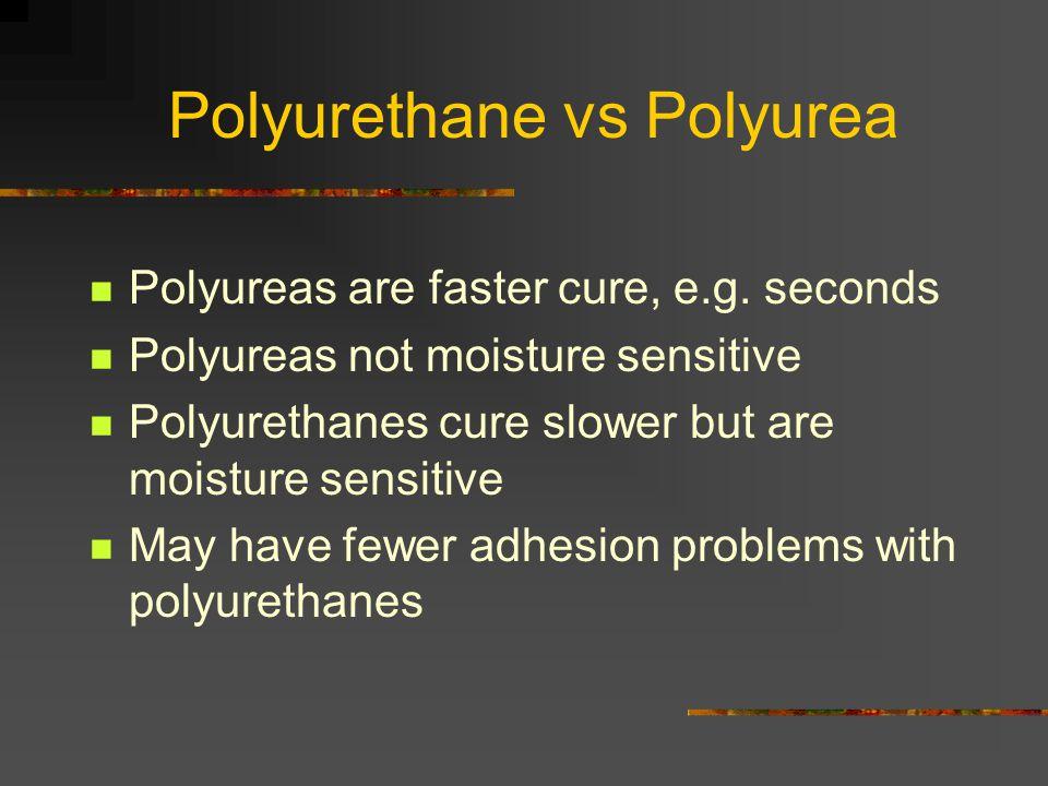 Polyurethane vs Polyurea