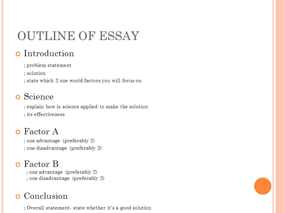statement of the problem 3 essay Thesis statement for traffic accidents  at the center of an argumentative essay is a statement with which your  3 2 statement of the problem.