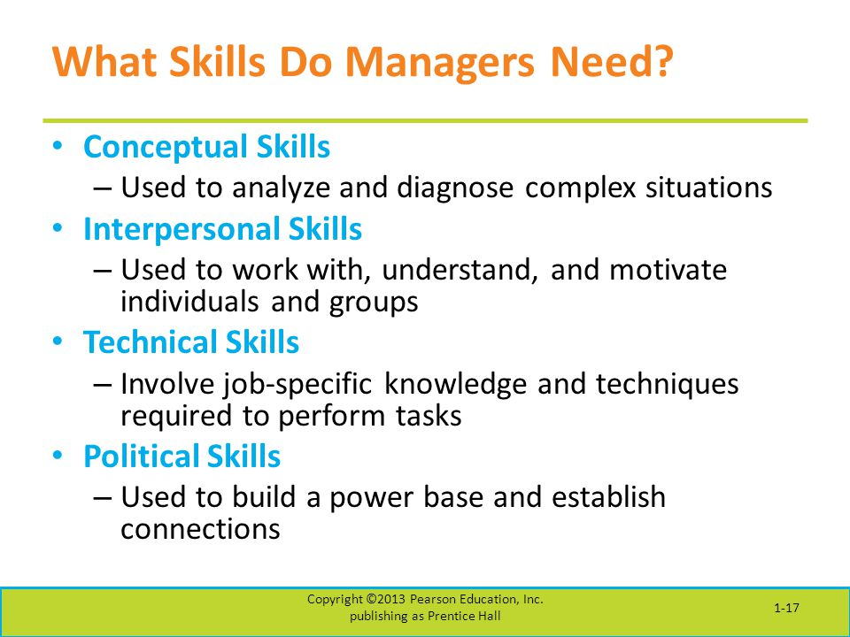 What Skills Do Managers Need