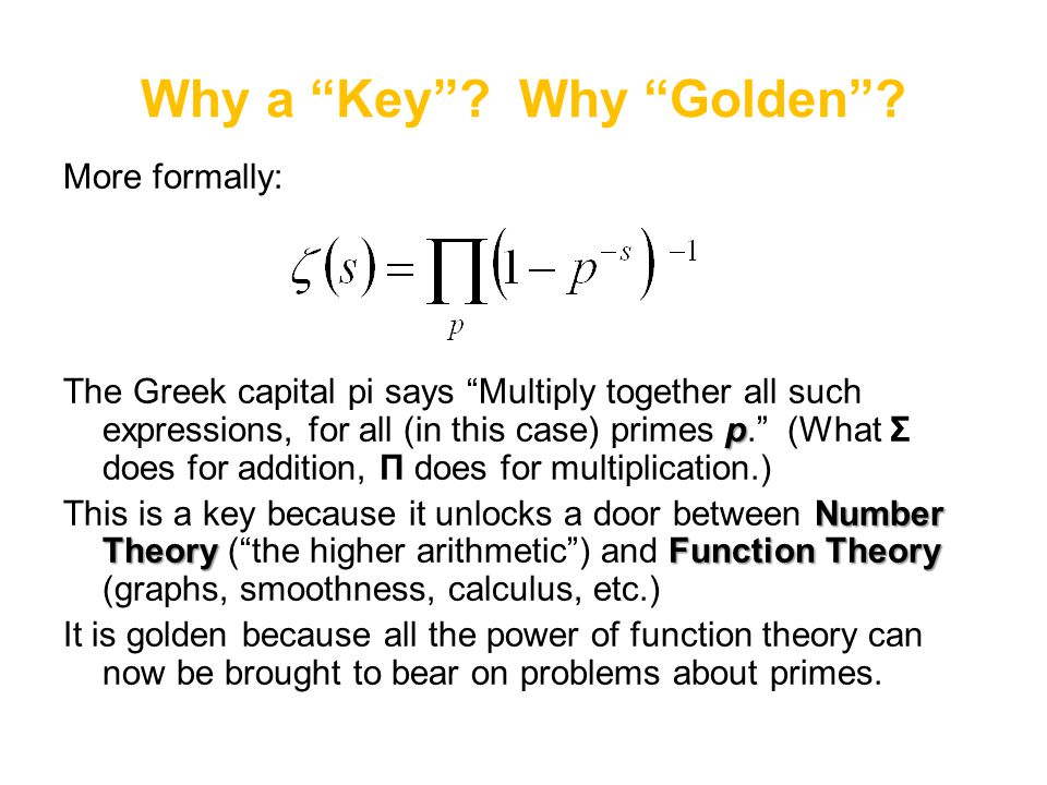 Why a Key Why Golden