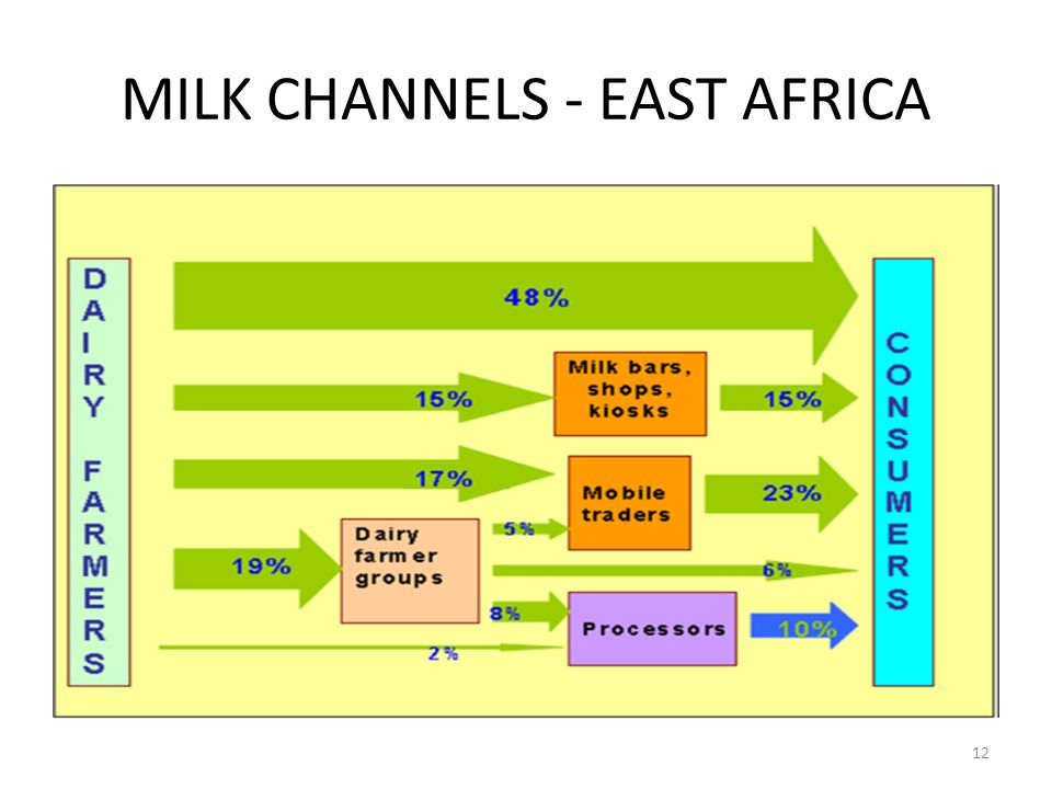 MILK CHANNELS - EAST AFRICA