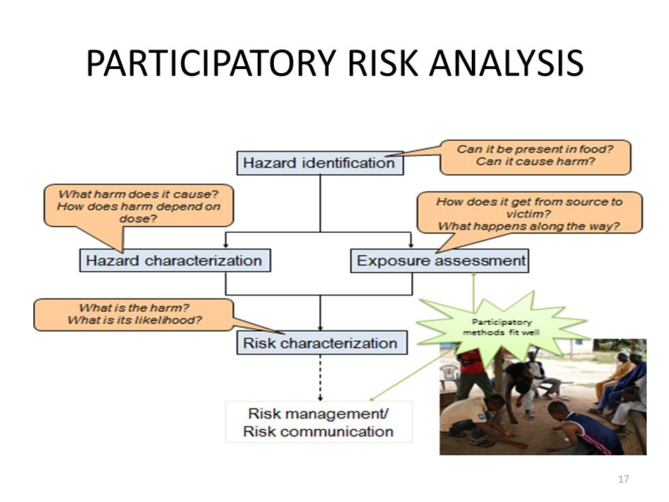 PARTICIPATORY RISK ANALYSIS