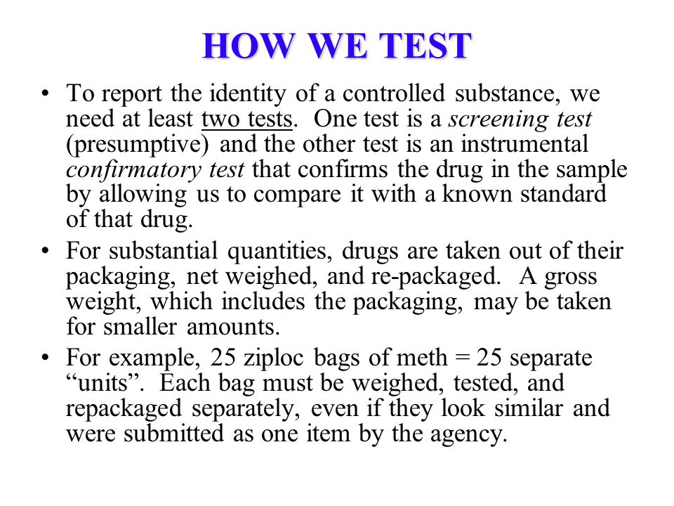 HOW WE TEST