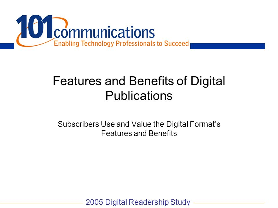 Features and Benefits of Digital Publications
