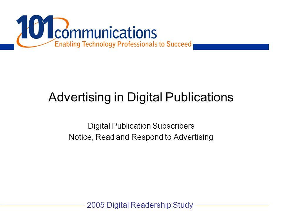 Advertising in Digital Publications