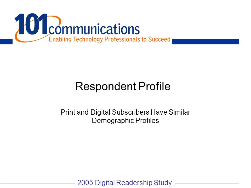 Print and Digital Subscribers Have Similar Demographic Profiles