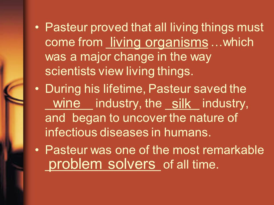 problem solvers living organisms wine silk