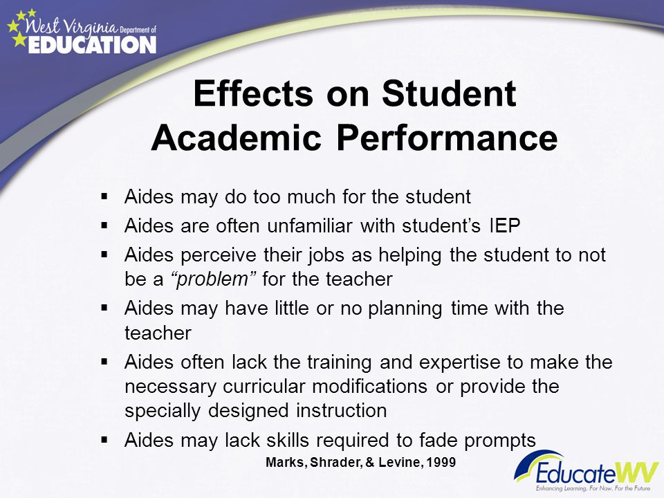 Effects on Student Academic Performance