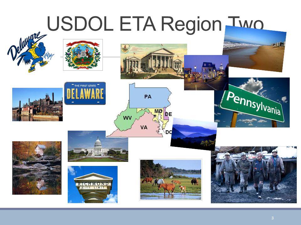 USDOL ETA Region Two