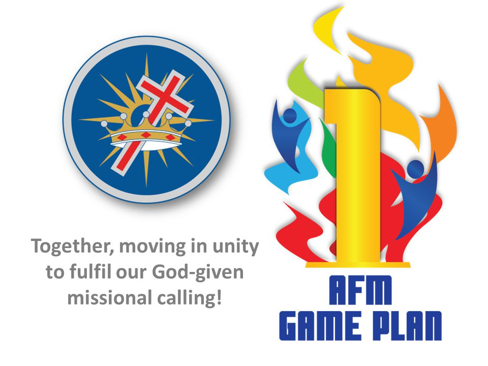 Together, moving in unity to fulfil our God-given missional calling!