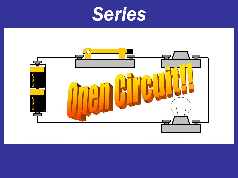 Series Duracell Open Circuit!!
