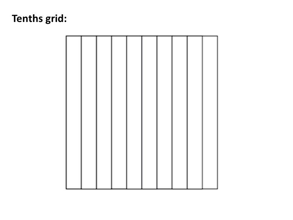 Tenths grid: