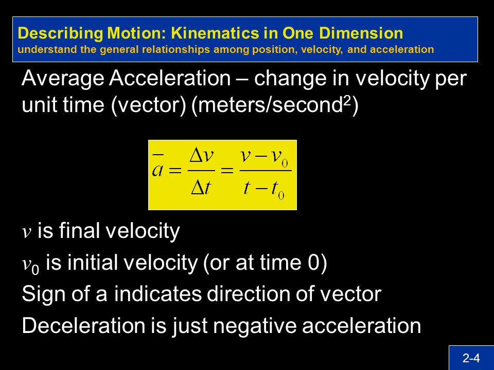 v0 is initial velocity (or at time 0)