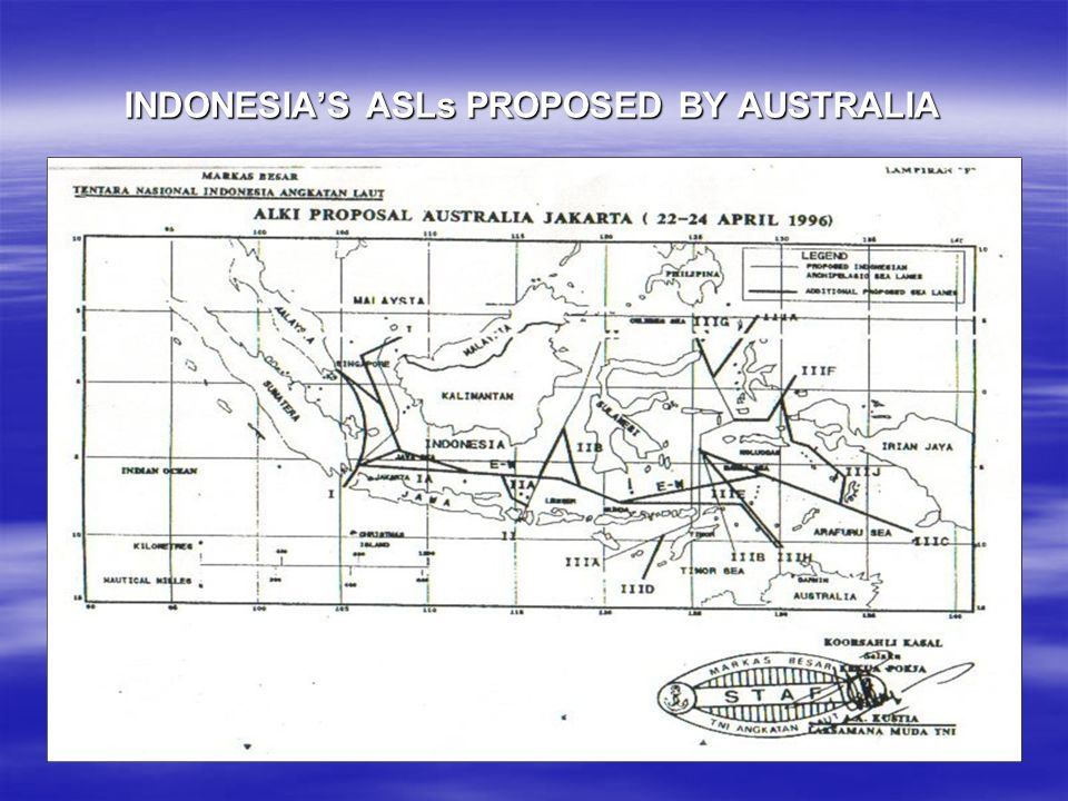 INDONESIA'S ASLs PROPOSED BY AUSTRALIA