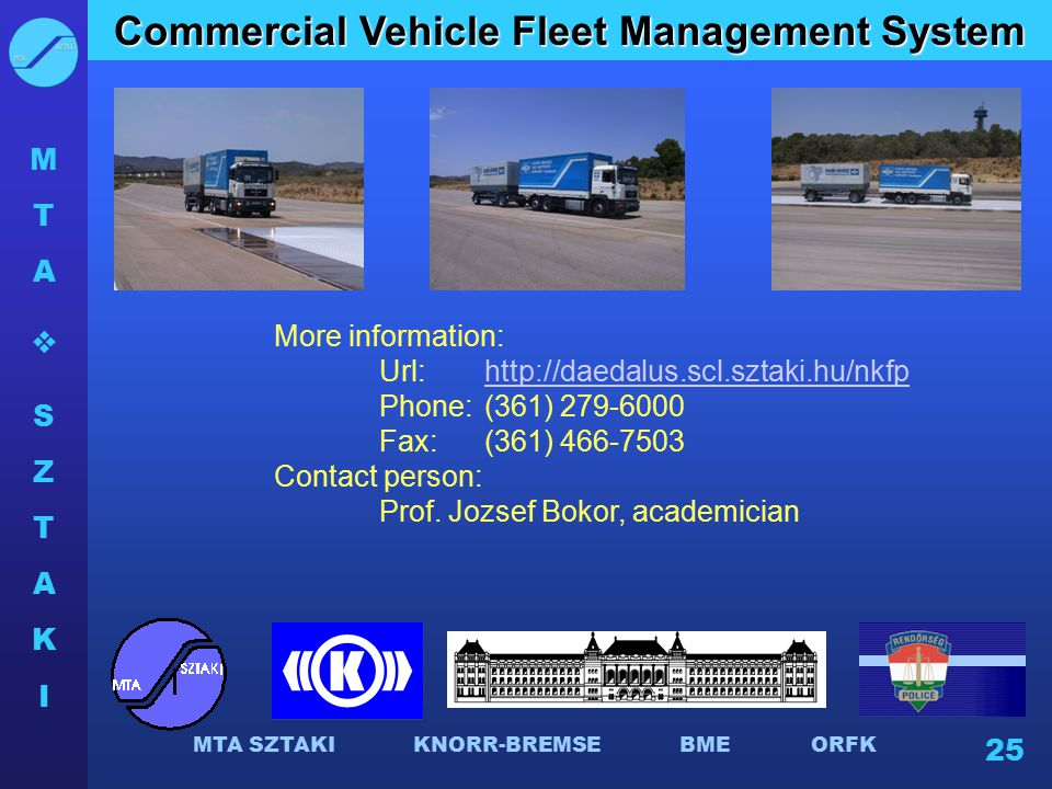 Commercial Vehicle Fleet Management System