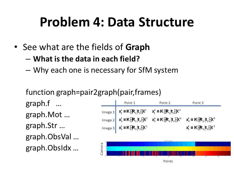 Problem 4: Data Structure