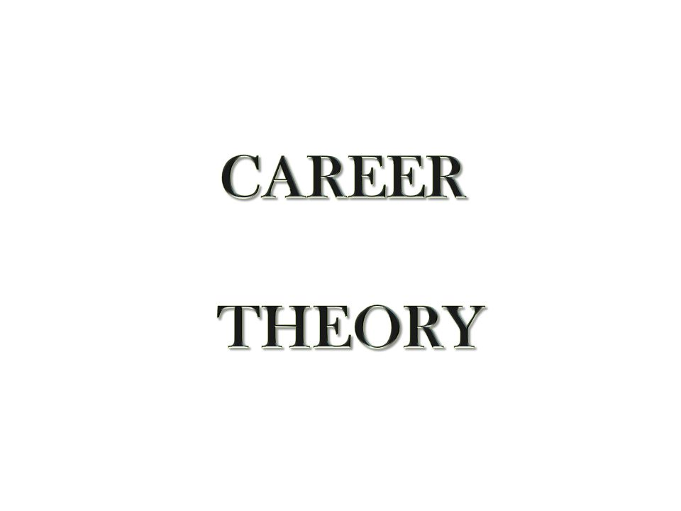 CAREER THEORY