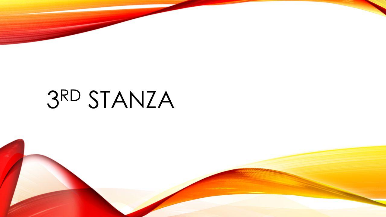 3rd Stanza