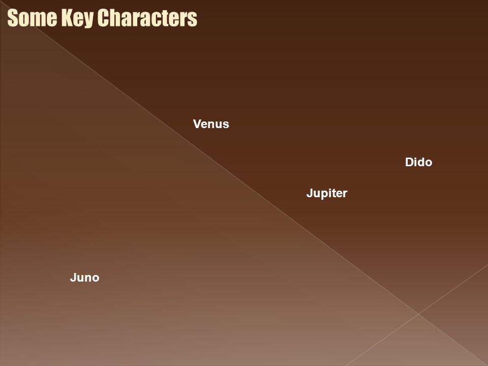 Some Key Characters Venus Dido Jupiter Juno