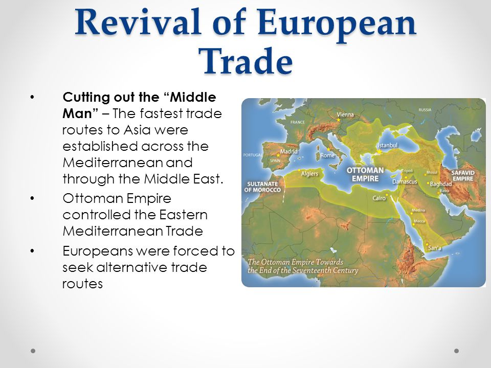 Revival of European Trade