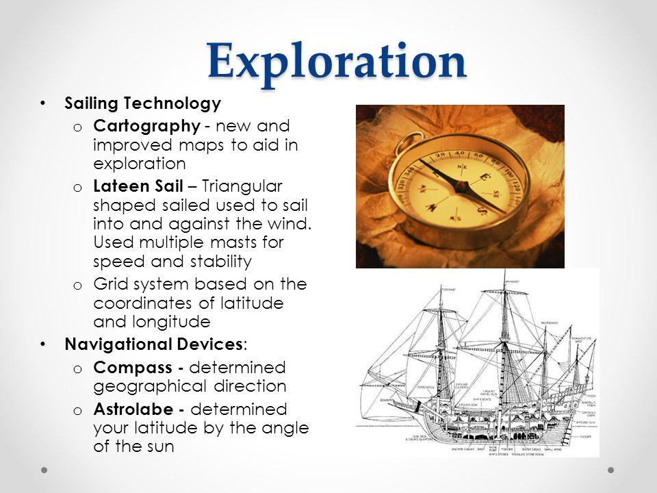 Exploration Sailing Technology