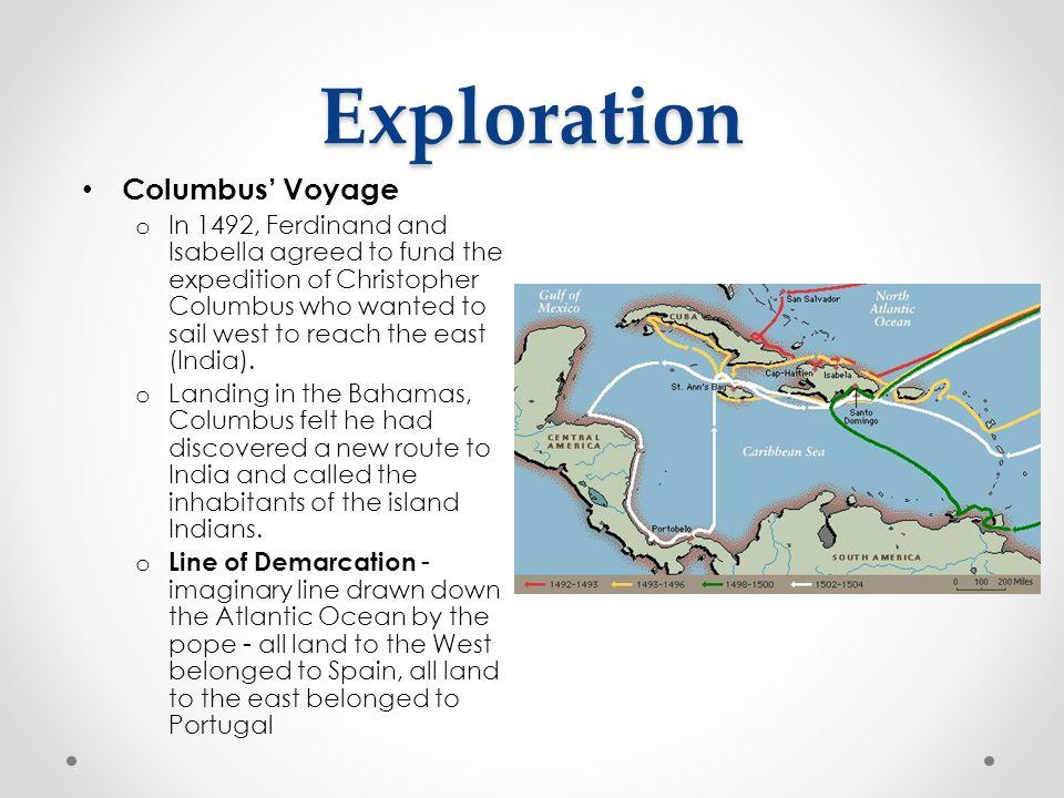 Exploration Columbus' Voyage