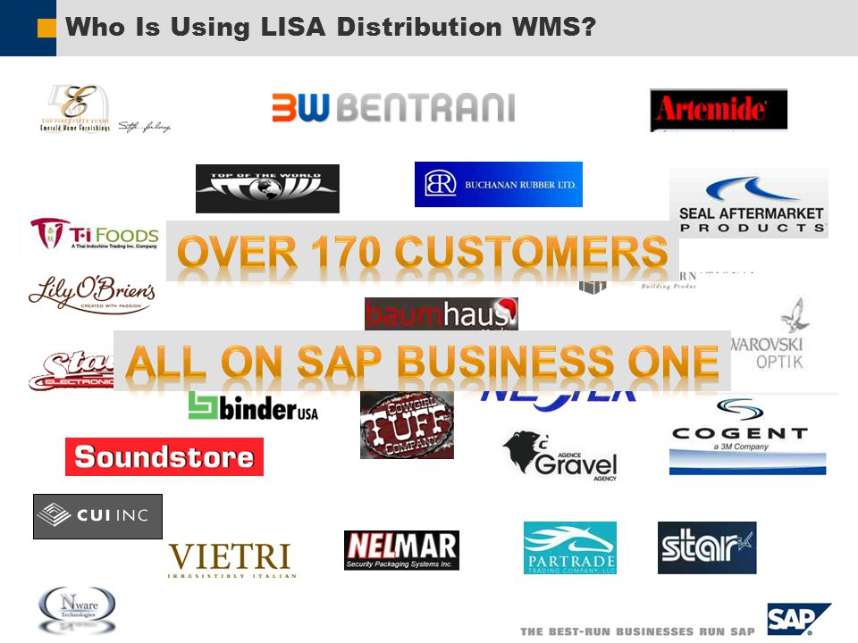 Who Is Using LISA Distribution WMS